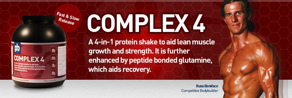 Complex 4 | Fast & Slow release | Promotes lean muscle